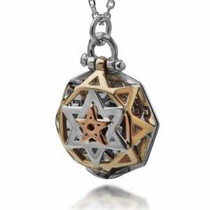 Five Metals Kabbalah Necklace -