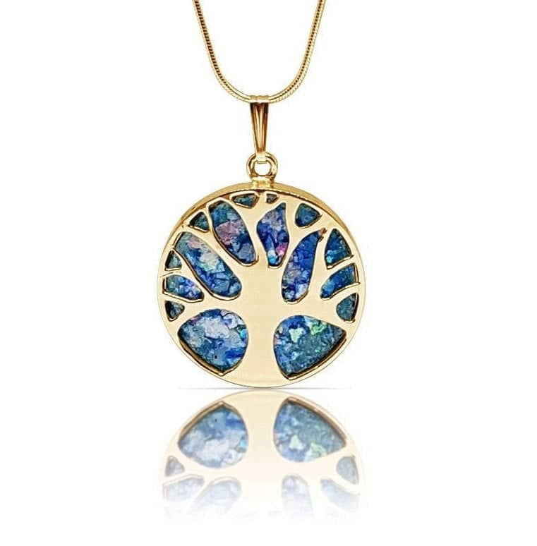 14K Gold Tree of Life Necklace